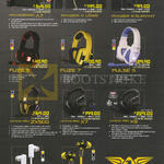 Headphones, Speaker Systems, A7, Panzer V Lowe, III Elefant, Fuze 5, Fuze 7, Pulse 5, Avatar Pro ZX500, X7, X9, Mark 5, Nuke 7