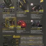 Mouse Alien IV G9X, Aliencraft IV G17, G11, 11 G13, Aquila X Series, X5