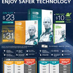 2000 ESET Smart Security, NOD32, Antivirus, EAV 1U1Y, EMS 1U1Y, 1U1Y