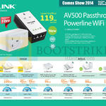 TP-Link Networking Powerline AV500 Wifi Kit, AV600