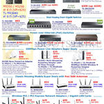 TP-Link Networking Switches, Powerline, Range Extenders, Network Adapters, Batteries, Wireless LAN Cards PCI Express