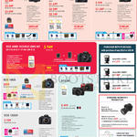 Digital Cameras DSLR EOS 6D, EOS 70D, EOS 700D, EOS 600D, EOS 100D, EOS 1200D, EOS M