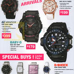 Casio Wrist Watches Sheen. Edifice, Baby-G, G-Shock