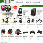 Microsoft Xbox 360 Accessories, Astro, Gioteck Headphones, Controllers, Astro A50, Mix Amp, A30, A40, Gioteck Elite Essential, Wireless Wired Controller