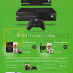 Xbox One Launch Kinect Bundle, Launch Console Bundle, Essentials Kit, Comex Launch Free Gift