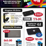 Kingston Wi-Drive 32GB, MobileLite Wireless, MobileLite Wireless G2