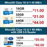 Lexar MicroSD Class 10 U-1