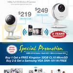 Samsung Wireless IP Cameras IPCam SNH-E6411BN, SNH-P6410BN