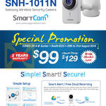 Samsung Wireless Security Camera SNH-1011N