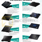 Cooler Master Notebook Coolers SF-17, SF-15, Notepal Ergostand Lite, Easy, Notepal X3, I300, L1, X-Lite II 2