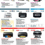 Printers, Photo Printers, L300, L800, T60, Workforce WF-3521, 7511, 7011, Stylus Photo R2000, R3000, Pro3885