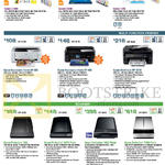 Printers, Scanners, L Series Ink Tank System Printers, Multi Function Printers, L1300, L1800, L120, Home XP-202, XP-402, WF-2548, Perfection V33, V370 Photo, V600, V700