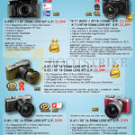 Digital Cameras (No Prices) X-Pro 1, X-T1, X-M1, X-A1, X-E1, X-E2