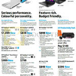 Notebooks Pavilion 14-v045TX, 15-p039TX, 15-p040TX, 13-b115TU, 14-n217TX, 14-r015TU, 15-r045TU, TouchSmart 14-v046TX