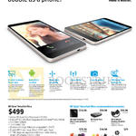 Tablet Slate 7 Voice Tab Ultra, Screen Protector, PowerPack, Wireless Headset, Bluetooth Speaker, Headset, Warranty Extension