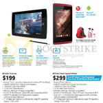 Tablets Slate 7 Extreme, Slate 7 Beats Special Promotion, Screen Protector, Stylus, Case, Keyboard, Warranty Extension