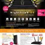 Netgear Networking Wireless Routers Nighthawk X6 AC3200, R8000, EX6200, R7000