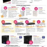 Netgear Networking Wireless Routers, Range Extenders, Switches, Storage, USB Adapter, Streaming Player