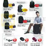 Targus Mouse, Backpacks Citylite II SL, Ultimate, Compact Rolling, City Fusion, Incognito, Compact BlueTrace, Wireless BlueTrace