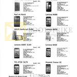Trading Mobile Phones Redmi 1s Pink, Redmi Note, Asus Zenfone 5, Lenovo A889, A390, A680, A850, S920, Huawi Honor 3C, TCL S720