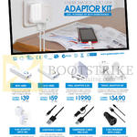 Technologies Adapter Kits Mini 6000, Duo 9000, Wall Adapter 2.0A, Travel Adaptor Kit, 3.4A Adapter, Lightening Cable, Pro Duo, Car Charger