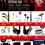 (Harvey Norman) Headphones, Earphones, X11i, X7i, X4i, S3M, A5i, Image One, Status, GIG, Promedia 2.1, KMC1, KMC3