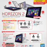 AIO Table Desktop PCs Horizon 2, Flex 20