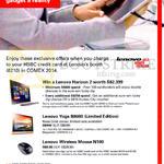 HSBC Spend N Win, Yoga B8080, Wireless Mouse N100