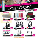 Ultimate Ears UE Speakers, Earphones, Headphones, UE Boombox, UE Boom, UE Mini Boom, UE9000, UE6000, UE4000, UE900, UE600vi, UE400