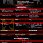 AIO Desktop PC AG240 Gaming Specifications