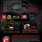 AIO Desktop PC AG270 Gaming