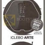MT18 IClebo Arte Pop Robot Vacuum Cleaner