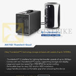 Akitio Thunder2 Quad Storage Enclosure