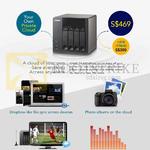 Qnap TS-420 NAS Private Cloud