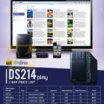 Synology NAS DiskStation DS214 2 Bay