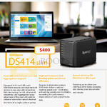 Synology NAS DiskStation DS414 Slim