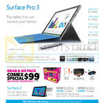 Surface Pro 3 Tablet, Surface 2, Grab N Go Pack