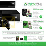 Xbox One, Launch Kinect Bundle, Launch Console Bundle, Xbox One Essentials Kit