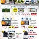 GPS Navigators Nuvi 2567LM, 65LM, 55LM, GDR 45, GDR 33, GDR 190