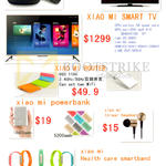 NewStar Xiaomi Mi Android TV Box, Smart TV, Router, Power Bank, Earphones, Health Care Smartband