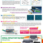 Printer (Newstead) LED Features, Serial Impact Dot Matrix Printer