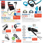 Bluetooth Mobile Headsets Backbeat Go2, FIT, Voyager Edge, Marque 2 M165, ML18, Savor M1100, Voyager Legend Premium