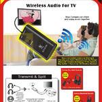 Wireless Audio For TV, Bluetooth Audio Splitter, Headphone