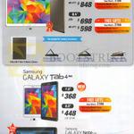 Samsung Galaxy Tab S 10.5, Galaxy Tab S 8.4, Galaxy Tab 4 7.0, Galaxy Tab 4 8.0, Galaxy Note 10