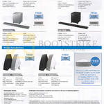 Speakers (No Prices) Air Track, Wireless Audio Multiroom HW-H551, HW-H600, HW-H751M, HW-F850, WAM550, WAM551, WAM750, WAM751