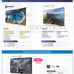 TVs (No Prices) H8000, H7000, H5200