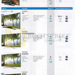 TVs (No Prices) HU7000, H6800, H6400, H6300, H6203