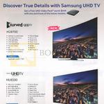 TVs (No Prices) HU8700, HU8500