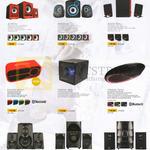 Audiobox Speaker Sets A100-U, A300U, A500U, P2000 BTMi, P3000 SDU, P5000 BTMi, Thor 500, Thor 700, Thor 900