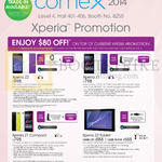 Mobile Phones Xperia Z2, Xperiz Z1, Xperia Z1 Compact, Xperia Z2 Tablet, Purchase With Purchase